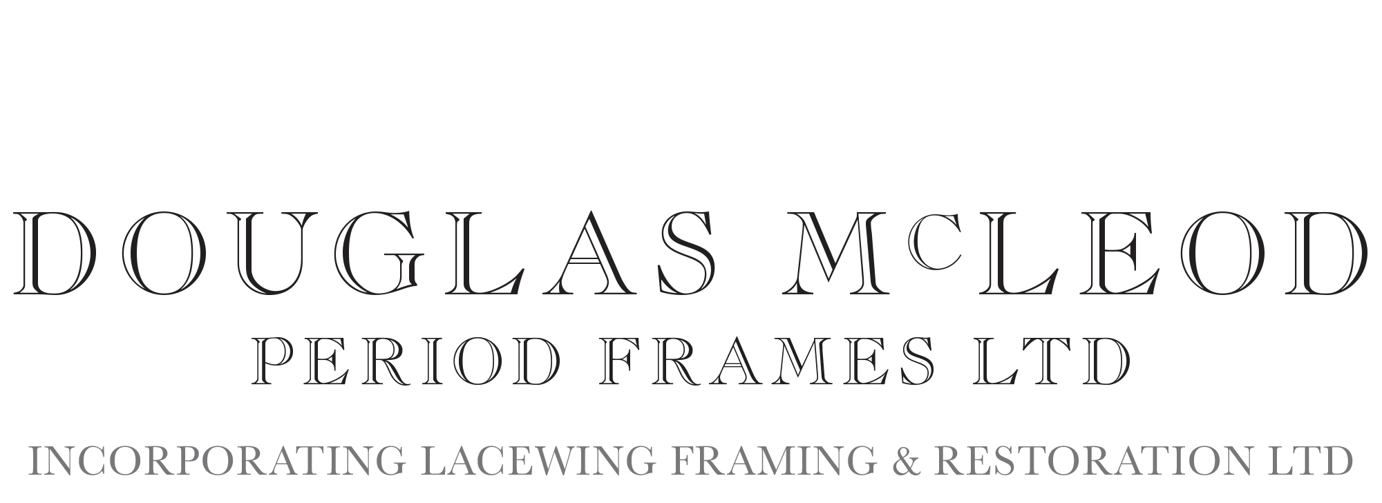 Douglas McLeod Period Frames